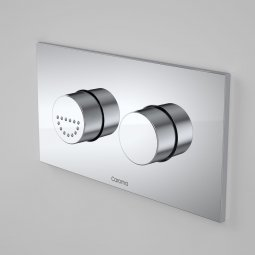 Invisi Series II® Care Dual Flush Plate & Raised Buttons