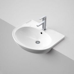 Laser Semi Recessed Basin