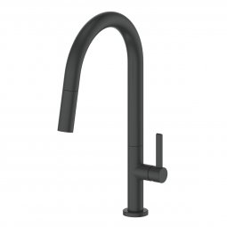 Luxe Pull-Down Sink Mixer Matte Black