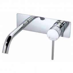 209 Series Wall Basin Set - Chrome