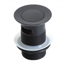 603 Series Pop Up Waste 32mm (With Overflow) Black