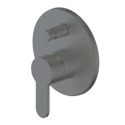 Astro Shower/Bath Diverter Mixer Gunmetal