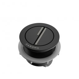 Flush Button Round 'Sm/Fl' - Black