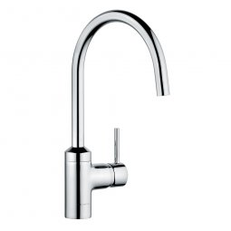 Bozz Sink Mixer Chrome