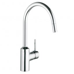 Bozz Pulldown Sink Mixer Chrome