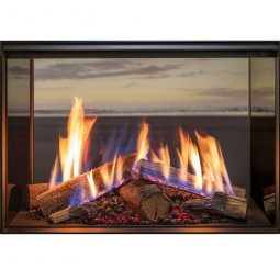 Linear 800 Gas Fire with FlameTech