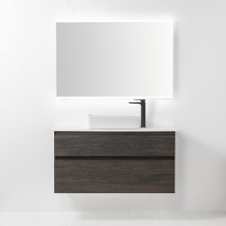 Sleek Ceramic Rectangle Counter Top Basin