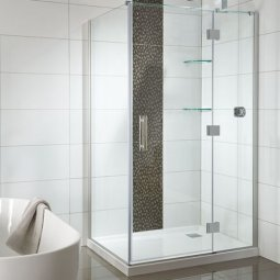 Allora Tiled Wall Shower