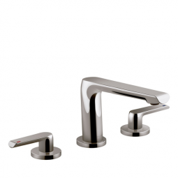 Avid 3 Tap Hole Bath Set Titanium
