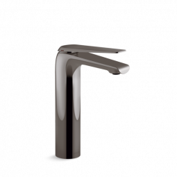 Avid Tall Basin Mixer Titanium 253mm