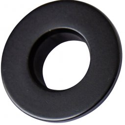 Evoke Overflow Cover (22mm) - Matte Black