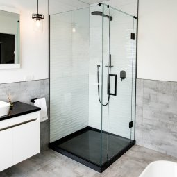 Novastone Hinged Door Shower
