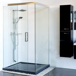 Novastone Sliding Door Shower