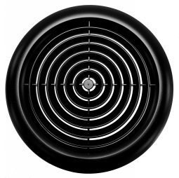 Circular Ceiling Grille in Black