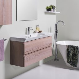 Edge 1060 Wall-Hung Vanity, 2 Drawers