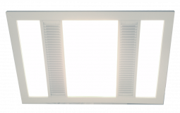 Designer Bathroom Heater with Fan Light  Panel