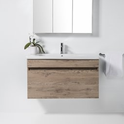 Soft 1000 Wall-Hung Vanity 1 Drawer