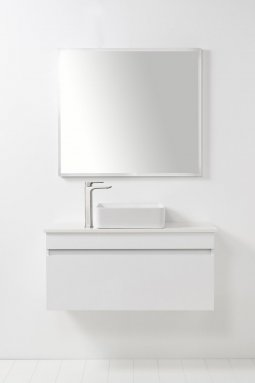Soft Solid Surface 1000 Wall-Hung Vanity, 1 Drawer