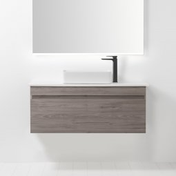 Soft Solid Surface 1200 Wall-Hung Vanity, 1 Drawer