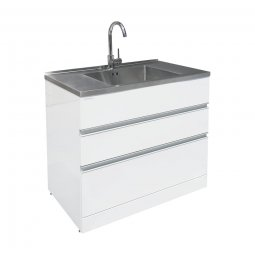 Vaskeri 900 Laundry Tub 2 Drawer