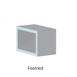 Shower Niches and Footrest