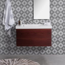 Grandangolo Wall-Hung 1000 Vanity, 2 Drawers
