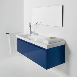 Grandangolo Wall-Hung 1300 Vanity, 2 Drawers