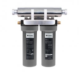 Hybrid Mini Undersink Dual Stage Filtration plus UV Protection, 8 Lpm