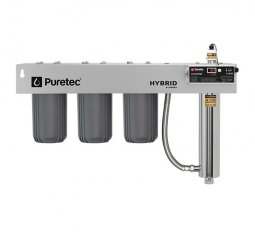 Hybrid R10 Triple Stage Filtration plus UV Protection, Reversible Mounting Bracket, 60 Lpm