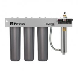 Hybrid R11 Triple Stage Filtration plus UV Protection, Reversible Mounting Bracket, 120 Lpm