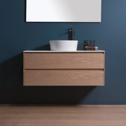 Moode 1200 Wall-Hung vanity, 2 Drawers