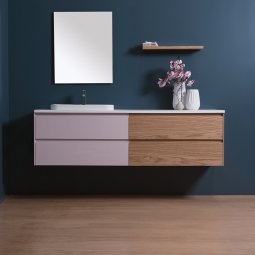 Moode 1800 Wall-Hung vanity, 4 Drawers