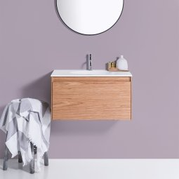Moode 600 Wall-Hung vanity, 1 Drawer