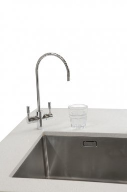 Schwan SC80 Chilled Sparkling Filtered Water on Tap - Chrome