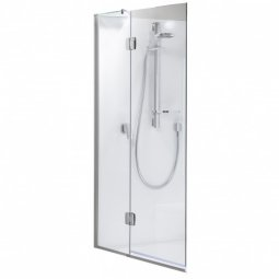 Platinum Shower Over Bath Hinged Swing Panel 1100x1500