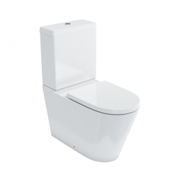 Sphere Back-To-Wall Toilet Suite with Cistern & Soft-Close Seat