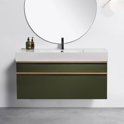Twenty 1210 Wall-Hung Vanity, 2 Drawers
