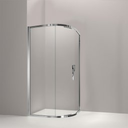 Torsion Enclosure Round Sliding Door Showers