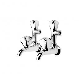Proline Laundry Taps Combo - Chrome