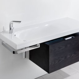 Grandangolo Box Package - 500 Cabinet, 1000 Basin and Towel Holder
