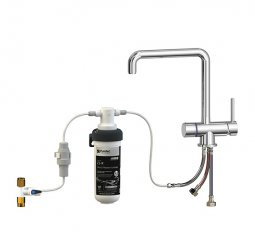 Quick Twist Undersink Water Filter using Ultra Z Filtration Technology with Tripla™ T5 LED Mixer Tap