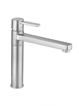 Zenta Sink Mixer Brushed Nickel