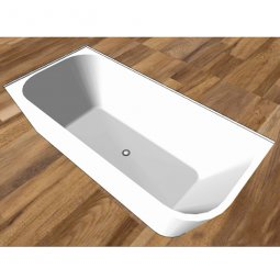Cita Back To Corner Freestanding Bath 1700 - Left