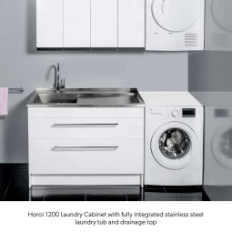 Horoi Laundry Cabinets - 2 Drawers