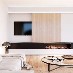 Linear 1500 Gas Fire