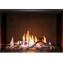 Linear 800 Gas Fire with Designer Log Set