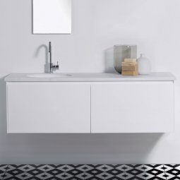 Moode 1500 Wall-Hung vanity, 2 Drawers (side by side)