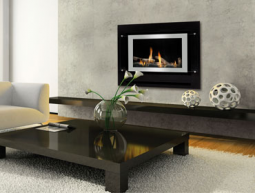 Neo Inbuilt Gas Fire with Simple Remote