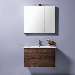 Qubo 710 Wall-Hung, 2 Drawer (Top/Bottom)