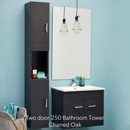 Two Door Bathroom Tower 250